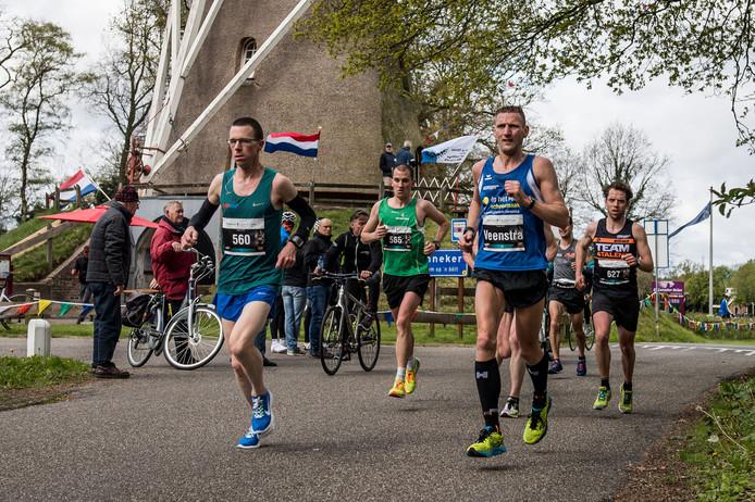 Beeld uit de Enschedese Marathon.