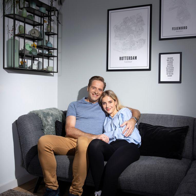 Hugo de Jonge met zijn dochter Sarah. Beeld Harmen Meinsma