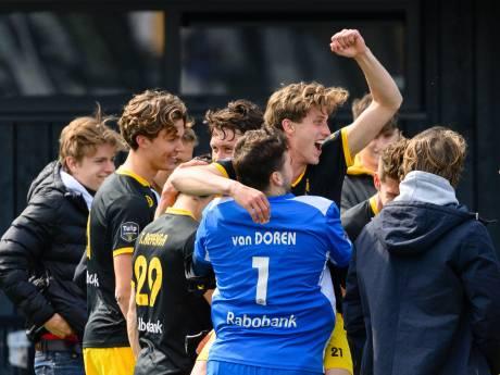 Na 20 jaar weer play-offs voor hockeyers van HC Den Bosch: 'Bloemendaal moet maar aantonen dat ze beter zijn'