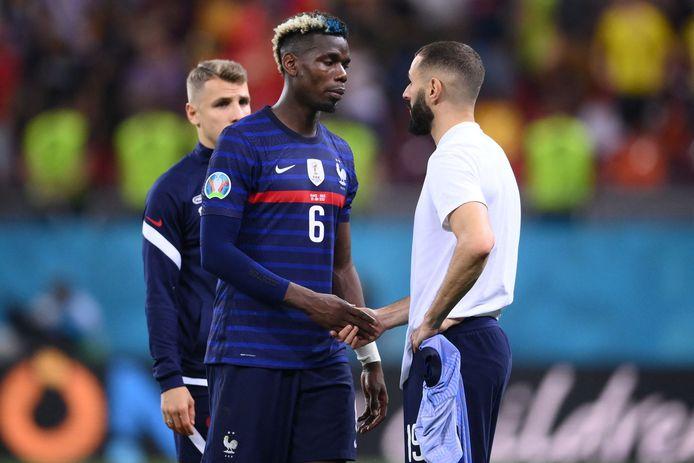 Paul Pogba après la défaite aux tirs au but face à la Suisse en huitièmes de finale.