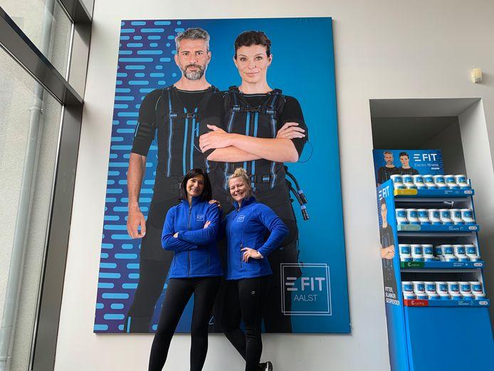 Het team van E-Fit Aalst.