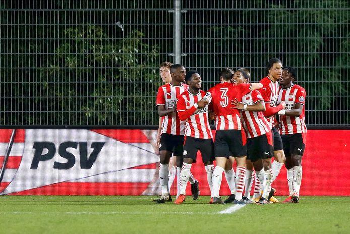 Jong PSV scoorde via Shurandy Sambo.