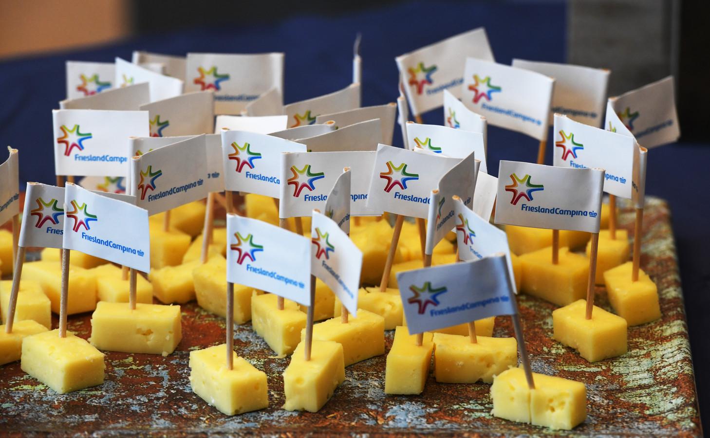 FrieslandCampina produceert onder meer kaas.