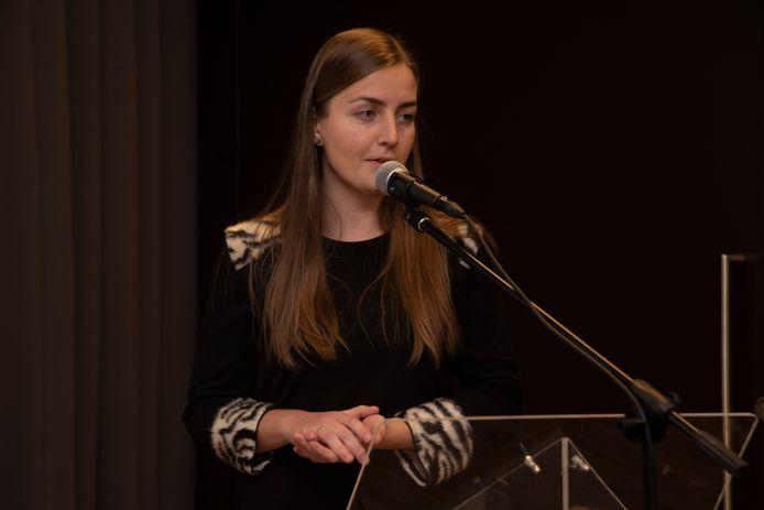 Adwine Vanslembrouck van het Koninklijk Belgisch Instituut voor Natuurwetenschappen.