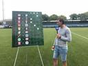 FC Eindhoven-keeper Ruud Swinkels.