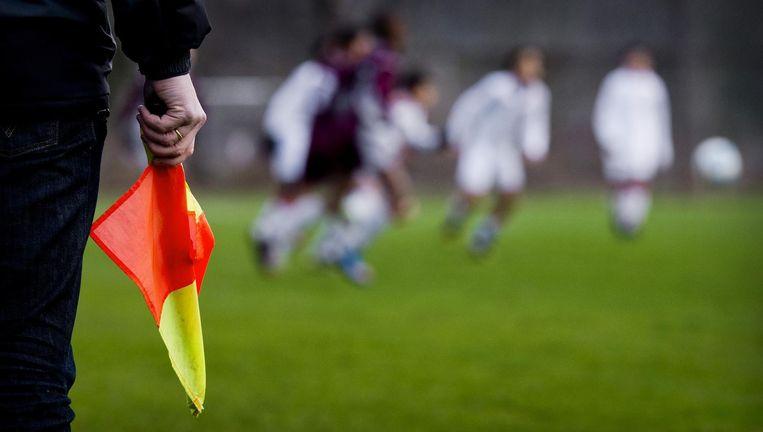 'Er moest er een statement worden gemaakt naar het voetbalgeweld in de wereld en moest iemand daarvoor boeten' Beeld anp
