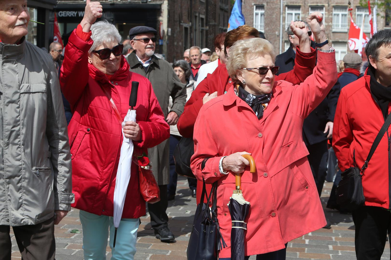 Het socialisme is nog niet dood in Gent, zo bleek gisteren.