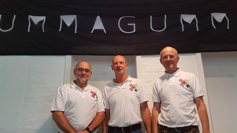 Rik Cox, Jan Van Doorslaer en Kris Dieltiens van Ummagumma.