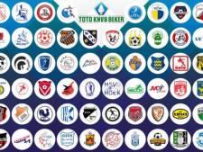 KNVB maakt speeldata Marvilde, Gemert en UNA in KNVB-beker bekend