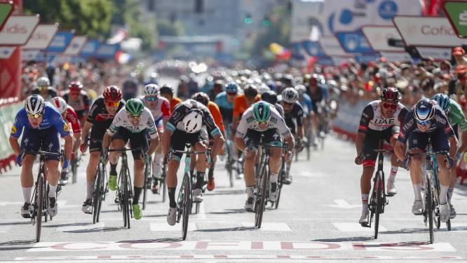 Tweede plaats in eerste massasprint Vuelta geeft Jakobsen wéér wat extra vertrouwen: 'Er komen nog meer kansen'