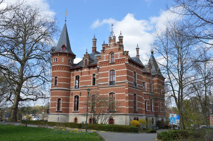 Het gemeentehuis van Hoeilaart.