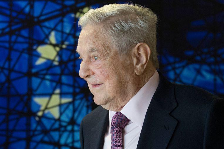 George Soros in Brussel.