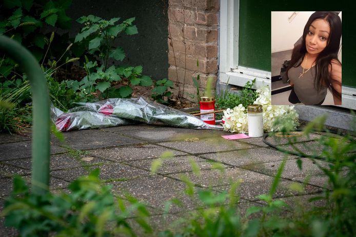 Naomi werd doodgeschoten in haar flat aan de Floriszstraat  in Arnhem.