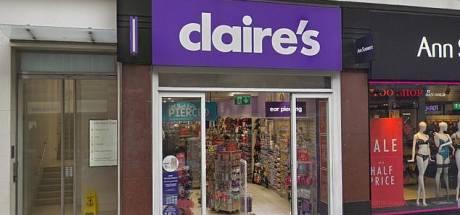 Winkelketen Claire's overweegt aantal Britse filialen te sluiten