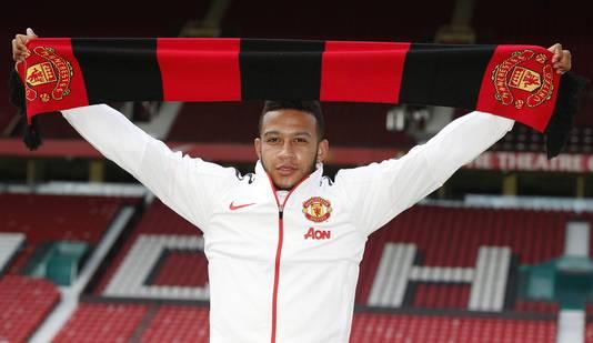 Memphis Depay maakte de overstap naar Manchester United.