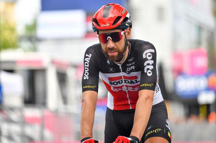 Thomas De Gendt tijdens deze Giro.