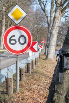 Dorpsraad Loenen verbijsterd over '60' op kanaalweg Apeldoorn: 'gemeenteraad nam emotie-besluit'