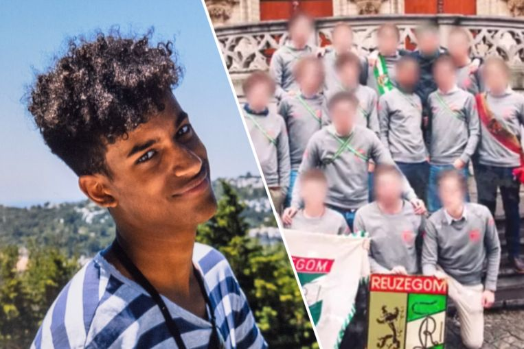 Sanda Dia kwam om het leven na een doop van studentenclub Reuzegom. Beeld Tim Dirven, VTM Nieuws