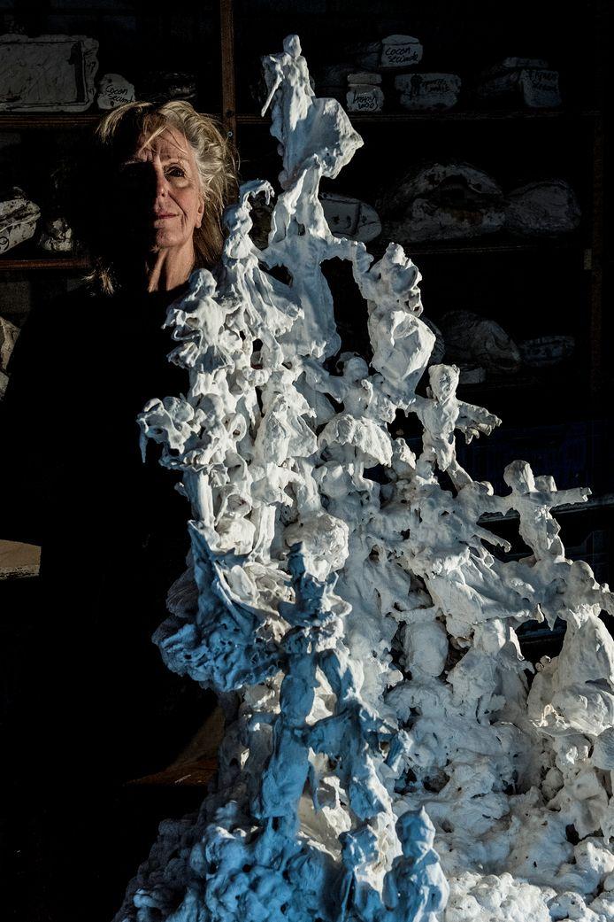 Kunstenaar Guusje Kaayk