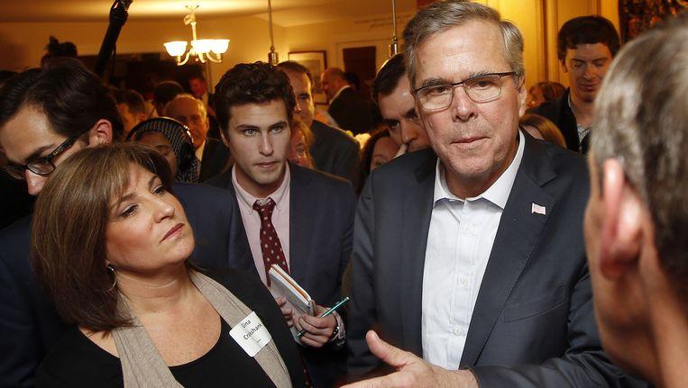 Voormalig gouverneur van Florida, Jeb Bush. Beeld ap