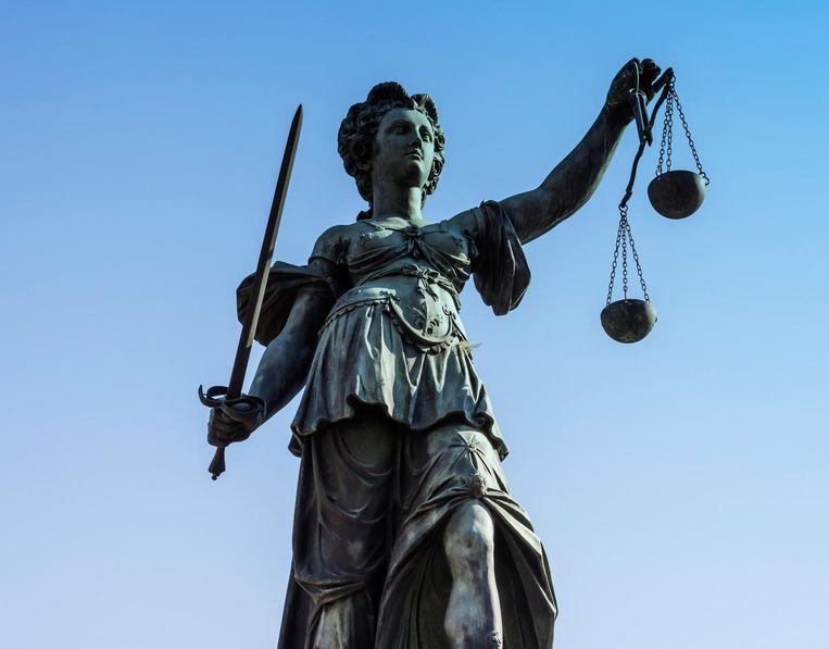 Vrouwe Justitia Beeld Imageselect