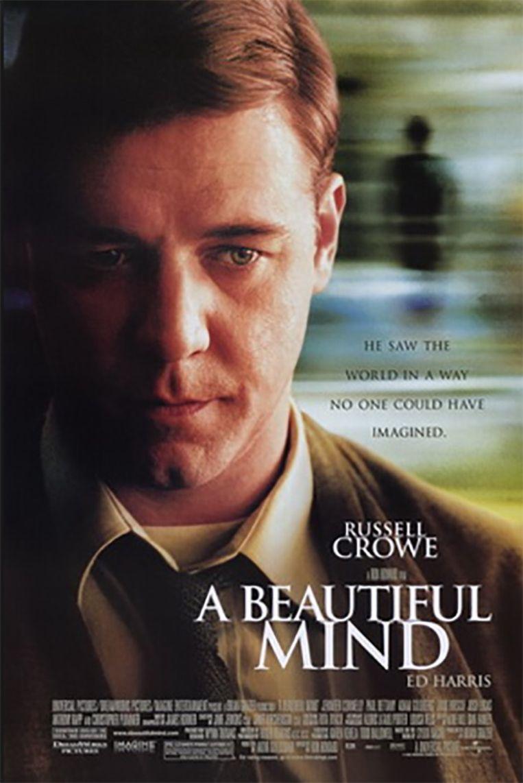Russell Crowe speelde John Nash in het bekroonde 'A Beautiful Mind'. Beeld Wikipedia