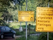 Werk aan wegen in Weerselo gaat door tot 24 oktober