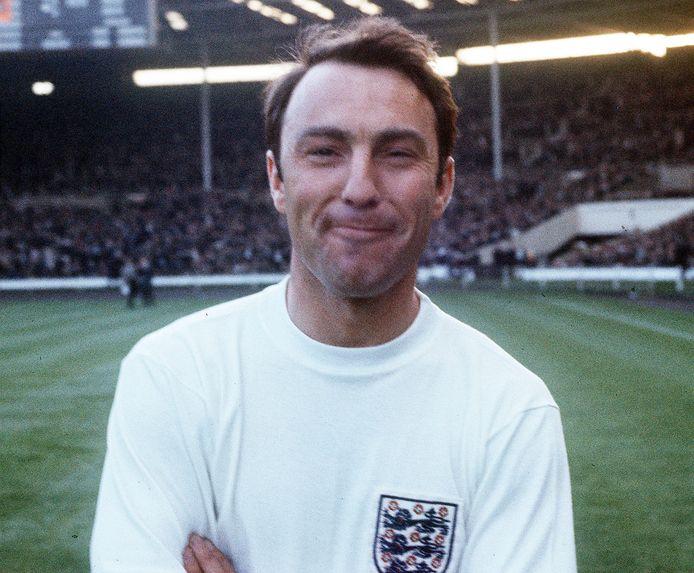 Jimmy Greaves als Engels international in 1967.