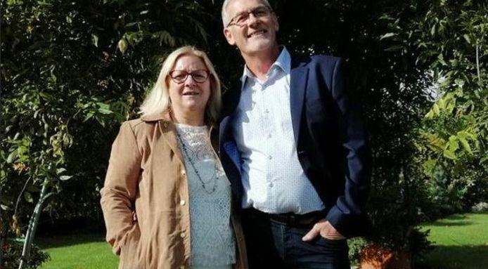 Yves en Patricia Rosay