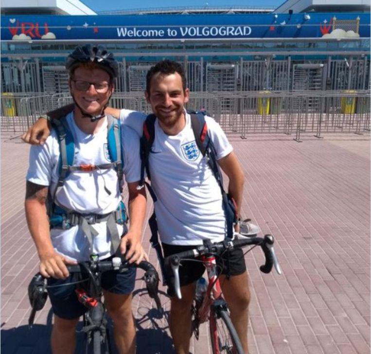Het duo fietste 3.800 kilometer