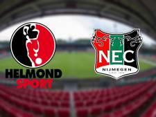 LIVE | NEC kan goede zaken doen in strijd om tweede periodetitel bij Helmond Sport