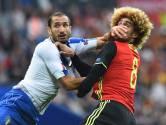 Le clash entre la Belgique et l'Italie préfacé en chiffres