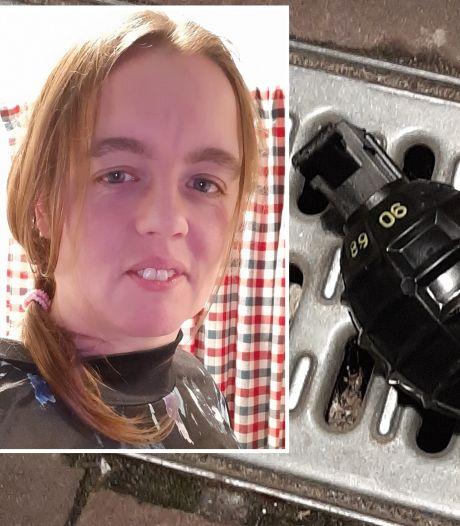 Krantenbezorgster Diana (36) vond de handgranaat in Kerkdriel