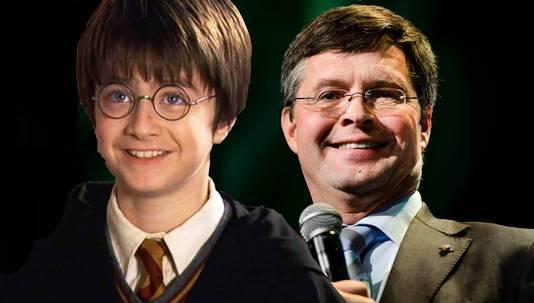 Jan Peter Balkenende zou de vader van Harry Potter gaan spelen.
