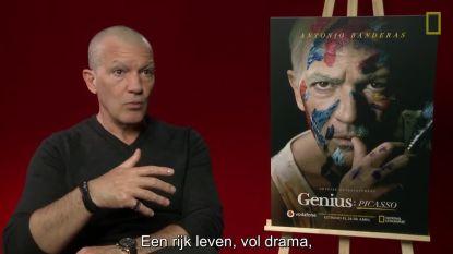 Antonio Banderas brengt geniale Picasso tot leven
