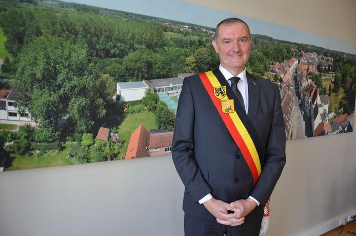Burgemeester Michel Du Tré (CD&V)