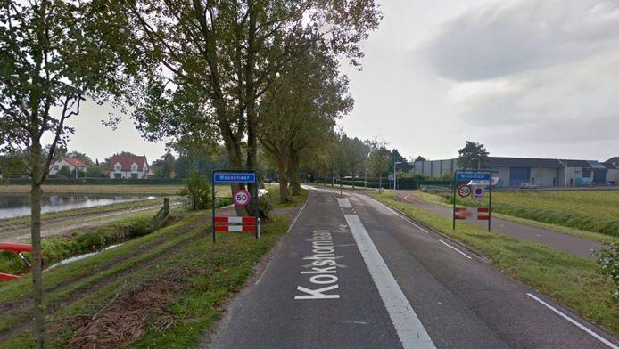 Een deel van de Kokshoornlaan in Wassenaar.
