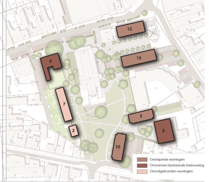 Het toekomstige sociaal culturele dorpshart in Made krijgt op papier al steeds meer vorm.