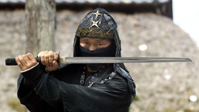 Een ninja. Beeld epa