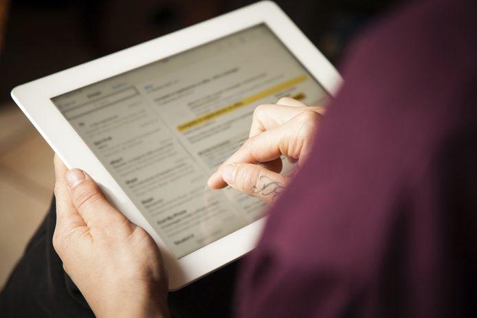 Wie mails beantwoordt met een smartphone of tablet, doet dat doorgaans sneller dan op een computer.