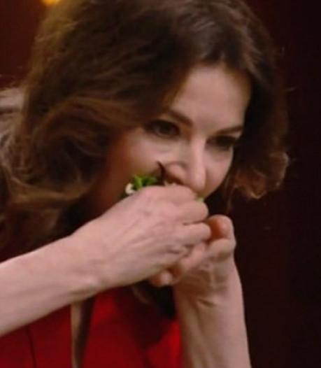 Hilariteit om schransende Nigella bij Masterchef: 'Zo herkenbaar'