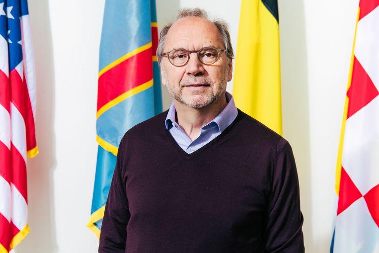 Wetenschapper Peter Piot in Antwerpen. Beeld Damon De Backer
