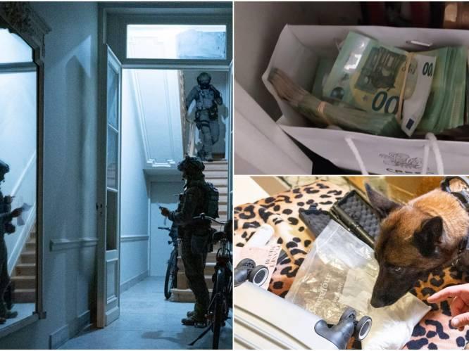 'Operatie Sky': 64 mensen gearresteerd bij 114 huiszoekingen tijdens grote politieactie tegen drugsmaffia