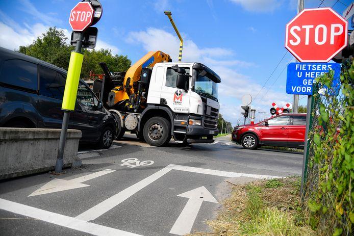 Philippe Van Streydonck informeerde onder meer naar een oplossing voor het oversteekpunt aan de Brandstraat.