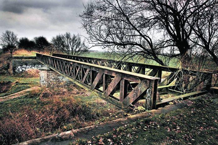 De Venkantbrug bij Vlijmen. Foto: Brabants Dagblad