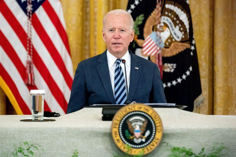 VS-president Joe Biden. Beeld Photo News
