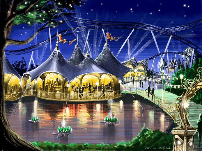 De sprookjesachtige sfeer van Tomorrowland beleef je weldra ook in Plopsaland.