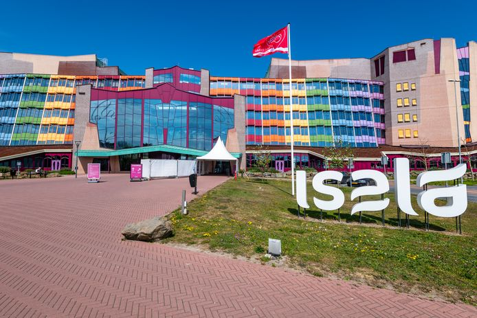 Het Isala ziekenhuis in Zwolle.