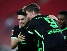 Weghorst brengt Wolfsburg met twintigste treffer dichter bij Champions League