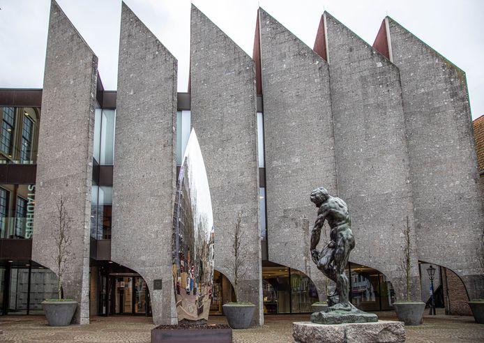 Het stadhuis in Zwolle.